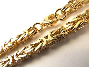 Goldkette königskette  Königskette Gold doublé o. vergoldet Halskette Goldkette ab Fabrik ...